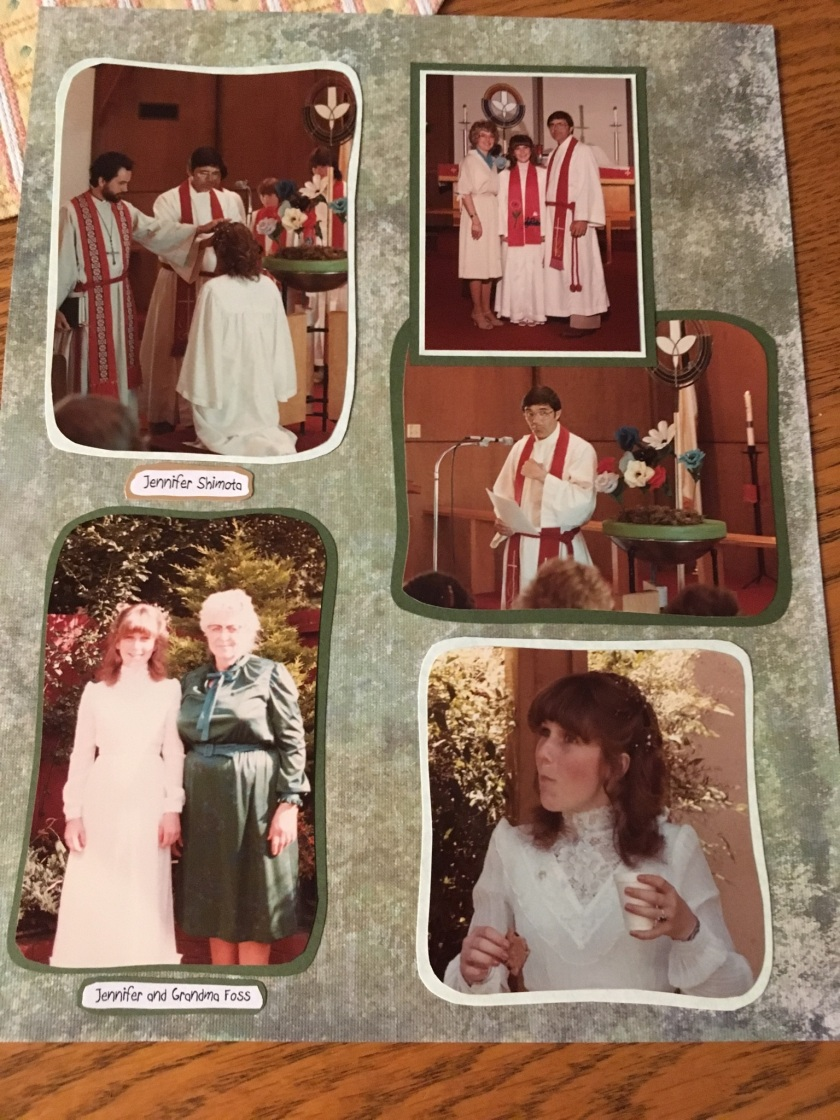 Confirmation Day Page 1983