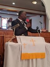 Yancy preaching